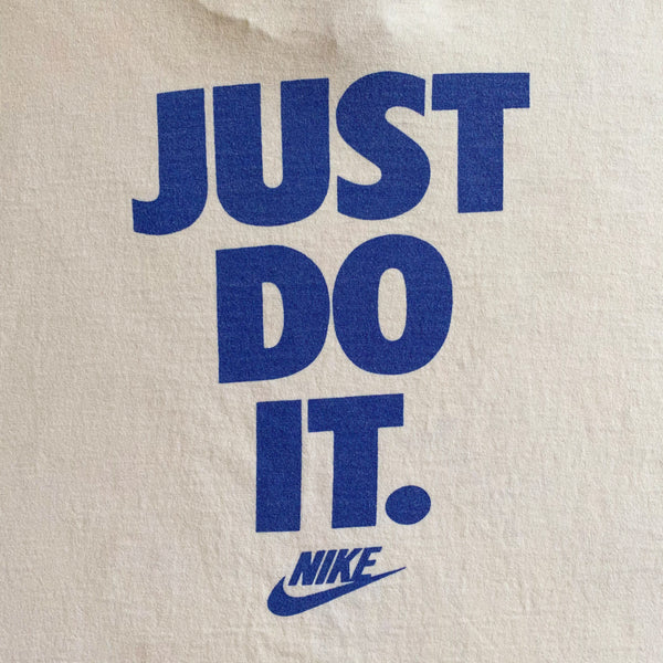 "VINTAGE NIKE 1994 STATE GAMES OF OREGON ""JUST DO IT"" PRINTED T-SHIRT"