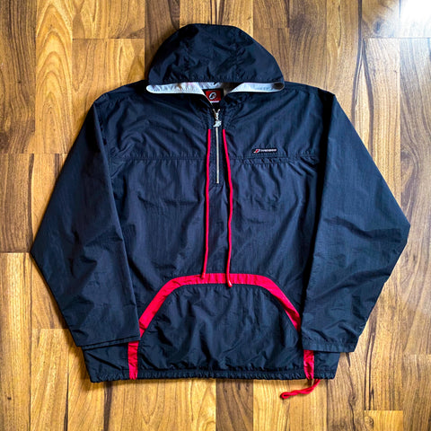 VINTAGE ALLEN IVERSON I3 LIMITED EDITION REEBOK HALF-ZIP HOODED WINDBREAKER JACKET