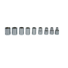 Load image into Gallery viewer, 1/4 in. and 3/8 in. Socket Set (27-Piece)