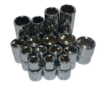 Load image into Gallery viewer, 1/2 in. Socket Set (21-Pieces)