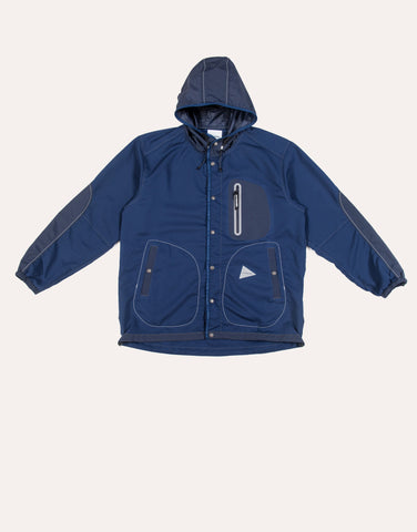 and Wonder Vent Hoodie - Blue