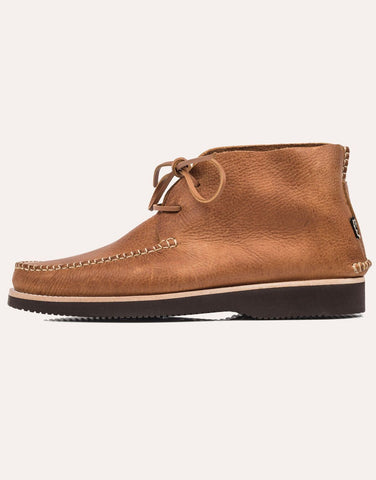 Yogi Lucas Tumbled Leather Moccasin Vibram Boot