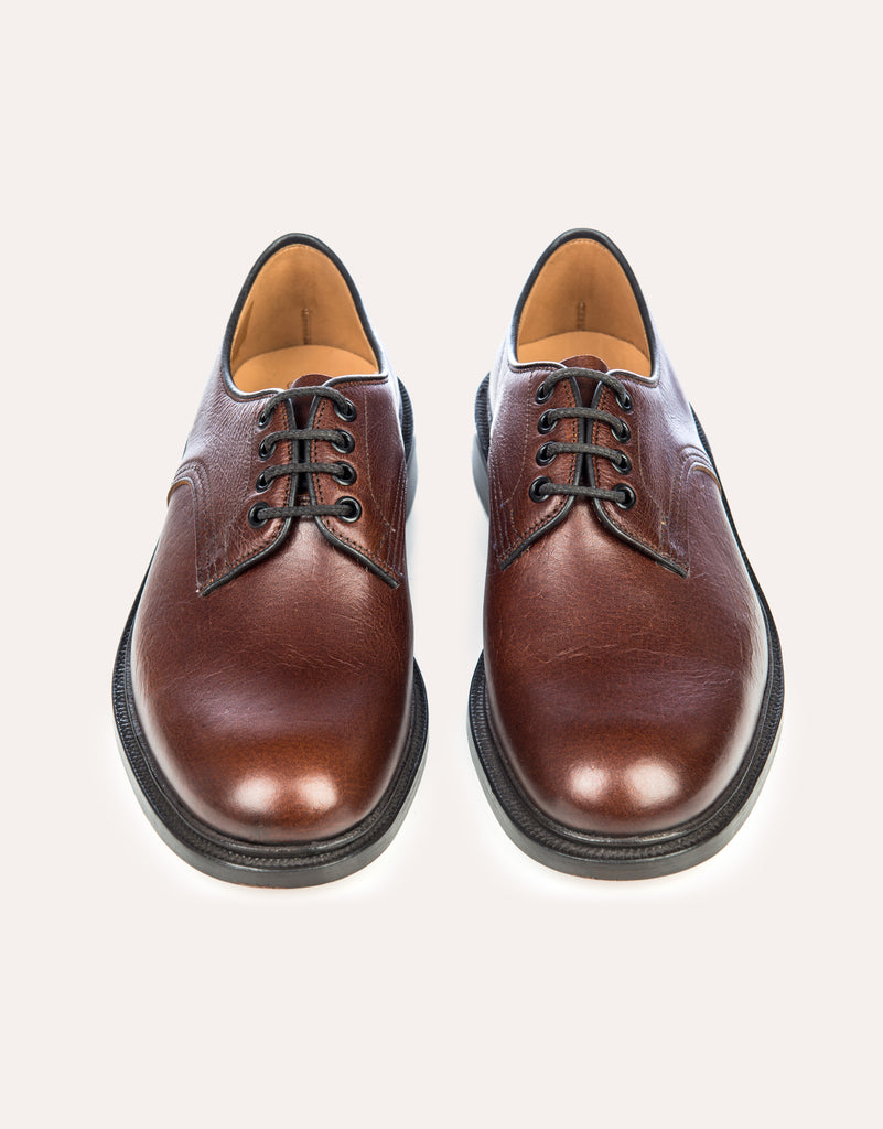 TRICKER'S for OWL Kudu Leather Derby Shoe