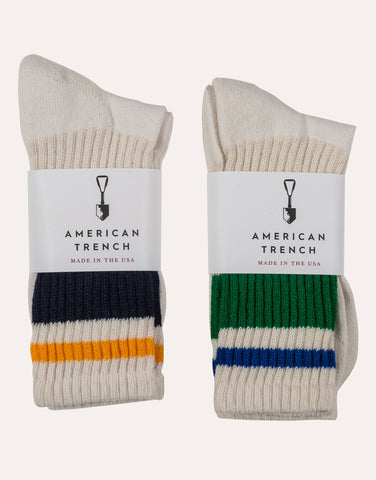American Trench Retro Stripe Sock