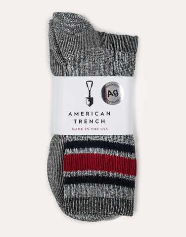 American Trench Merino Activity Sock
