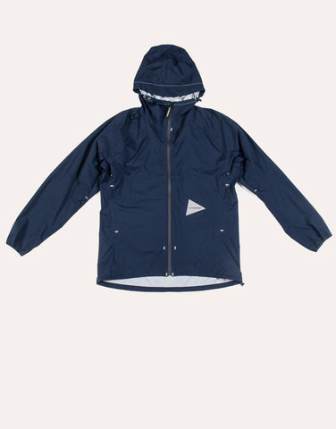 and Wander 3L Light Rain Jacket - Navy