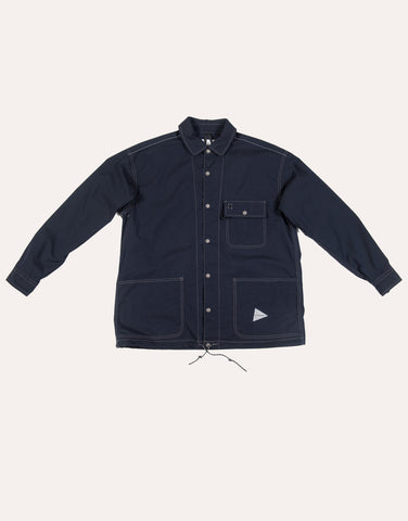 and Wander Dry Rip Shirt - Navy