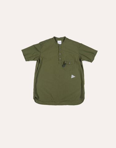 and Wander CORDURA Typewriter SS Overshirt - Khaki
