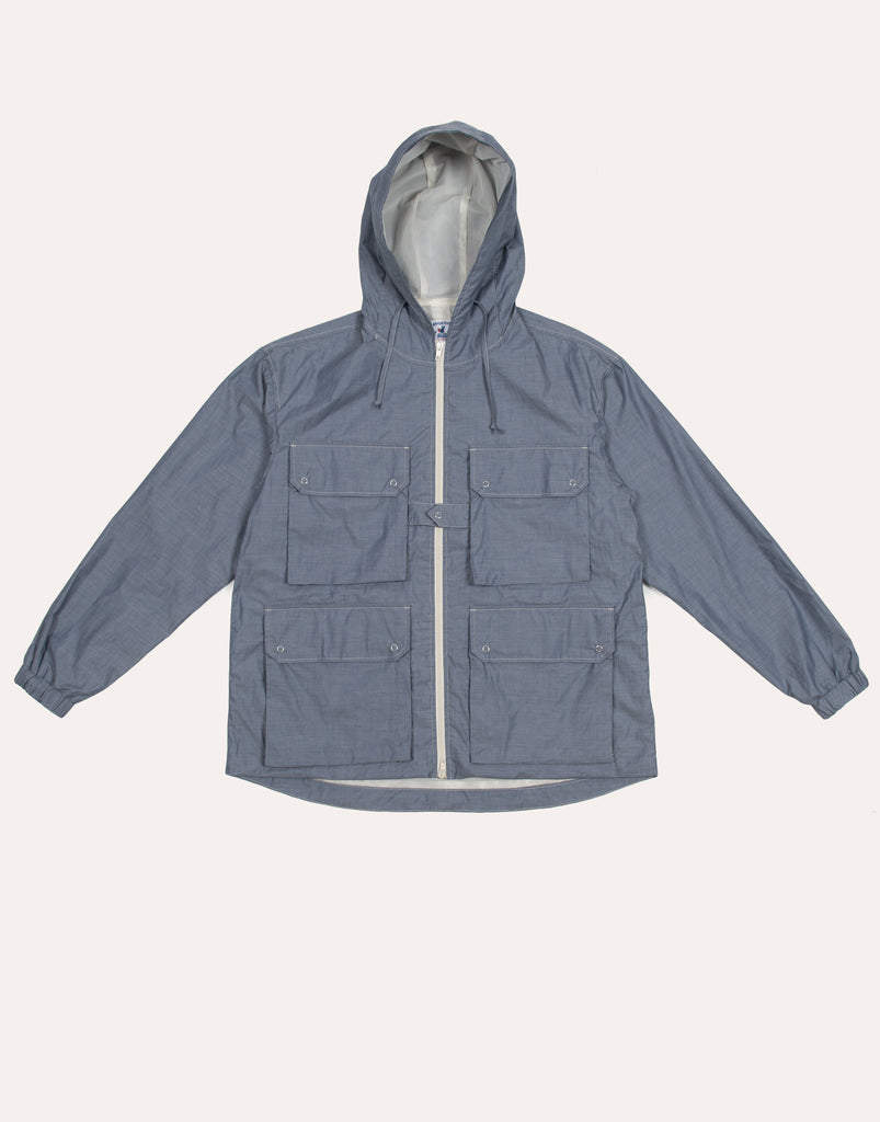 Arpenteur Reporter Jacket - Blue Chambray