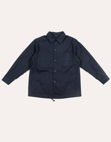 Arpenteur ADN Cotton Gabardine Jacket - Navy