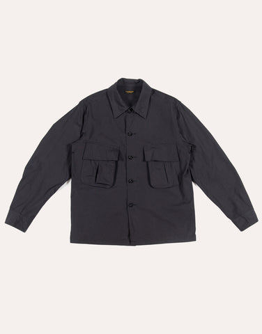 A Vontade Fatigue Short Jacket - Faded Black