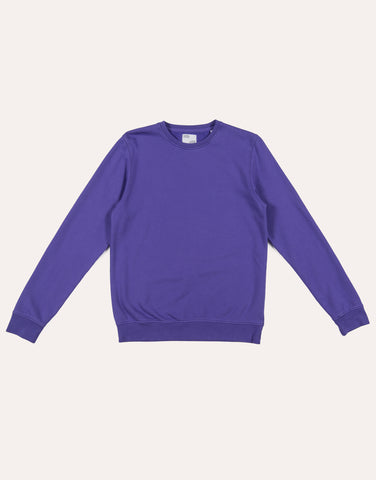 Colorful Standard Classic Organic Crew - Ultra Violet
