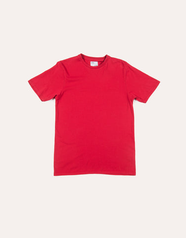 Colorful Standard Classic Organic Tee - Scarlet Red