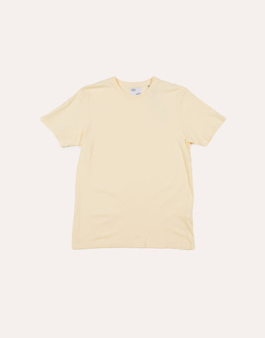 Colorful Standard Classic Organic Tee - Soft Yellow