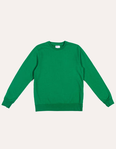 Colorful Standard Classic Organic Crew - Kelly Green