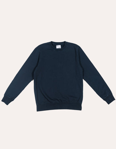 Colorful Standard Classic Organic Crew - Navy Blue