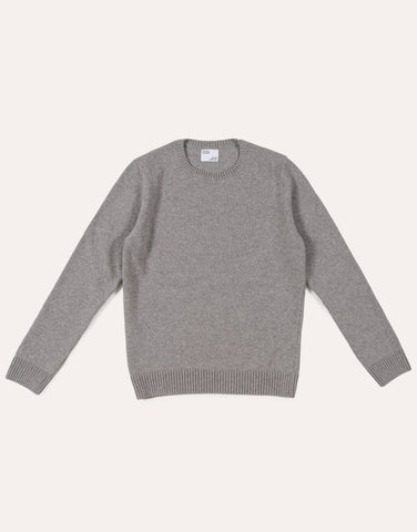 Colorful Standard Classic Merino Wool Crew - Heather Grey