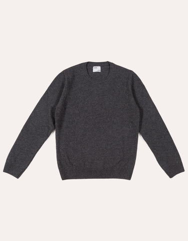 Colorful Standard Merino Wool Crew - Lava Grey