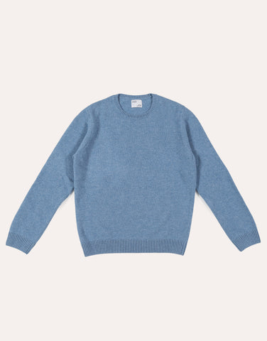 Colorful Standard Classic Merino Wool Crew - Stone Blue