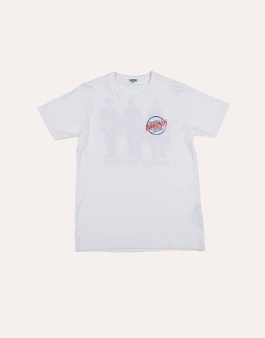 DUBBLEWARE BUZZ Pocket T-Shirt - White