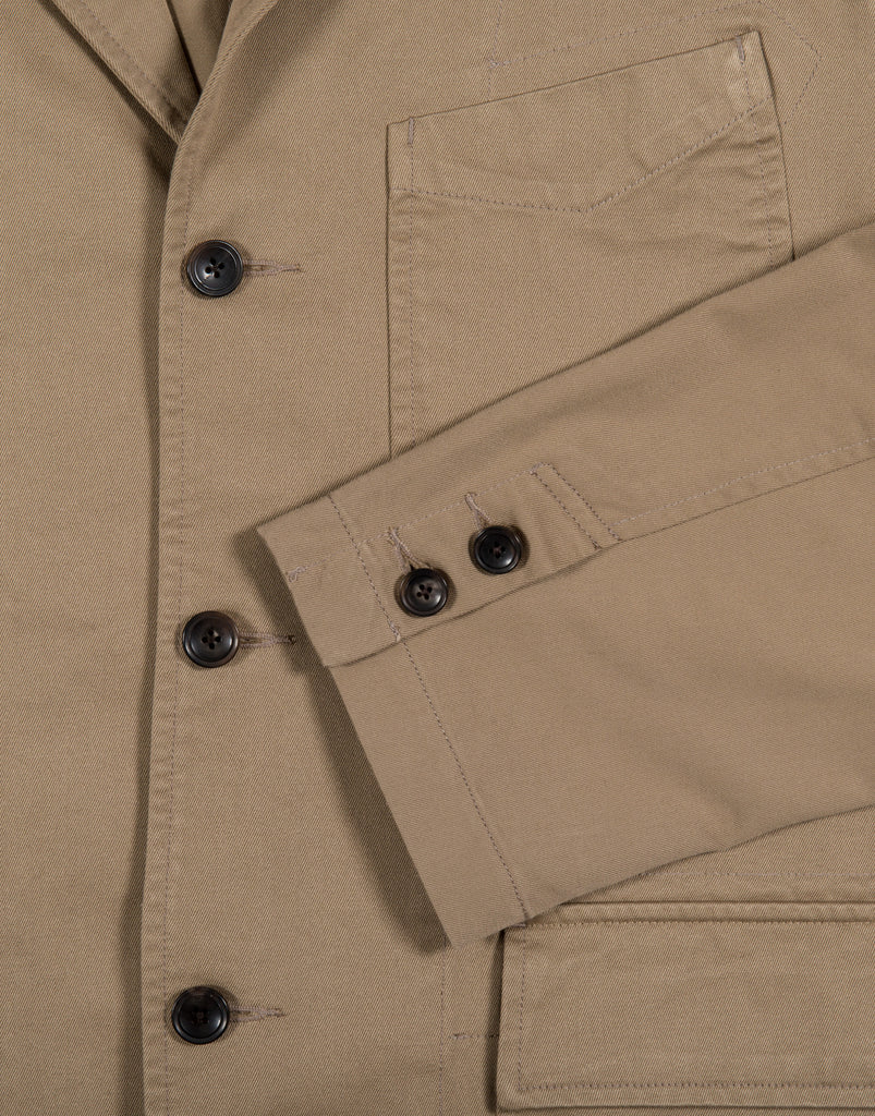 Eastlogue Permanent Bunch Jacket - Beige