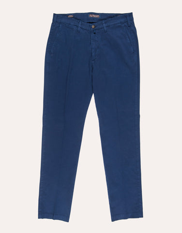 Four Ten Industry T901 Cotton Trouser - Navy