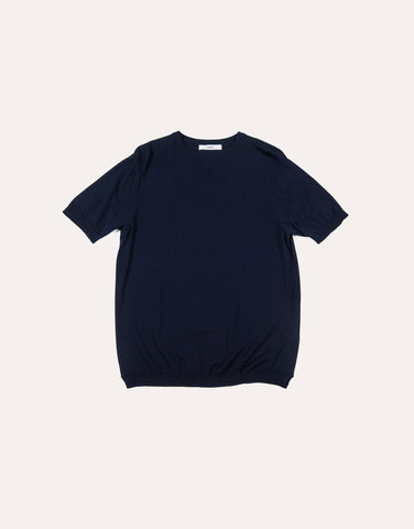 Fujito Knit T-Shirt - Navy