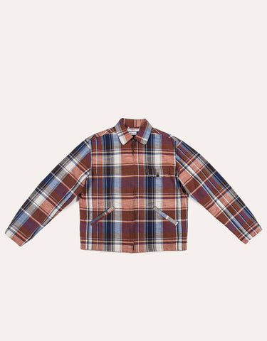 Fujito Drizzler Jacket - Red Check
