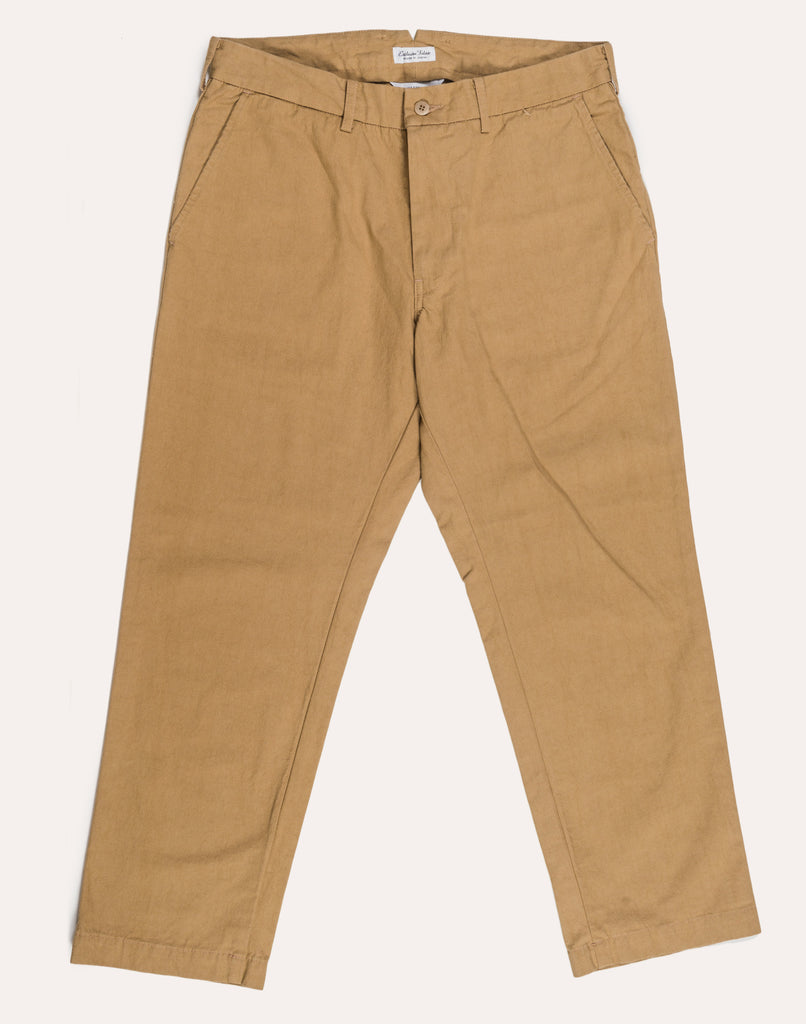 Fujito Tapered Trousers - Beige