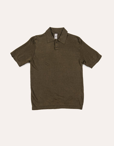 G.R.P Short Sleeve Polo - Military Green