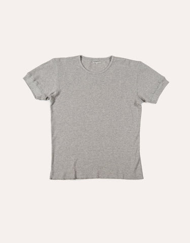 KNICKERBOCKER SS Camp Knit T-Shirt - Heather Grey