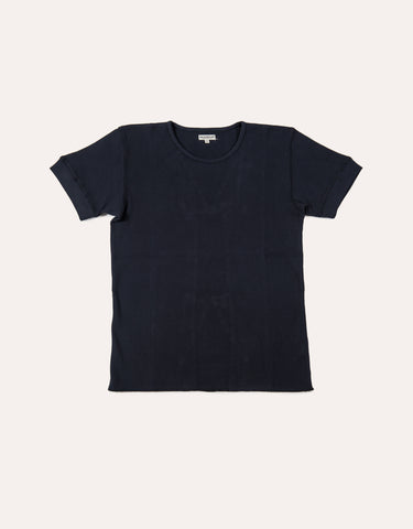 KNICKERBOCKER SS Camp Knit T-Shirt - Navy