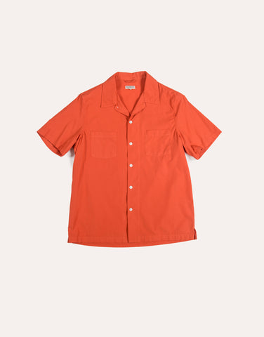 KNICKERBOCKER SS Comma Camp Shirt - Chili
