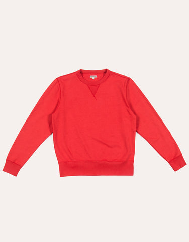 KNICKERBOCKER Crew Fleece - Varsity Red
