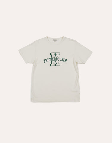 KNICKERBOCKER University T-Shirt - Milk