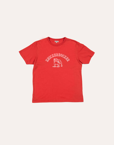 KNICKERBOCKER Varsity T-Shirt - Varsity Red