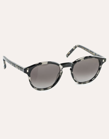 MONOKEL Nelson Black/Grey Havana - Gradient Grey Lens