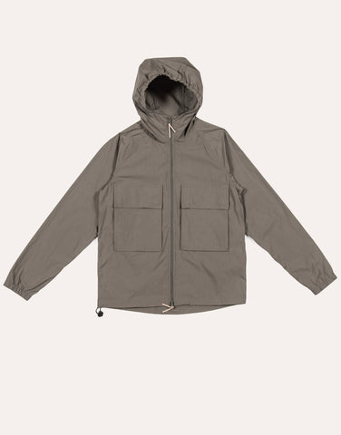 NATIVE NORTH Hooded Paper Jacket - Olive