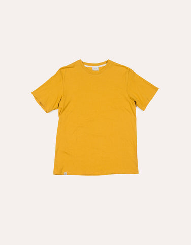NATIVE NORTH Linen Melange Tee - Yellow