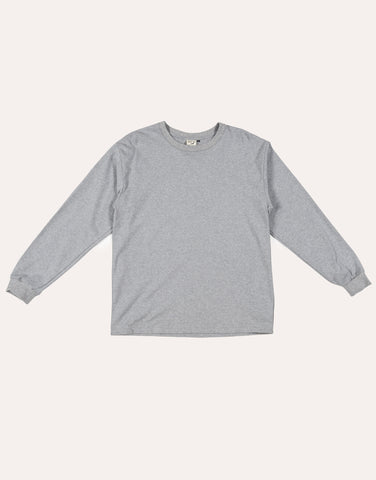 orSlow Long Sleeve Tee - Heather Grey
