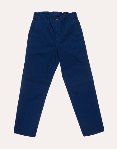 orSlow French Work Pant - Blue
