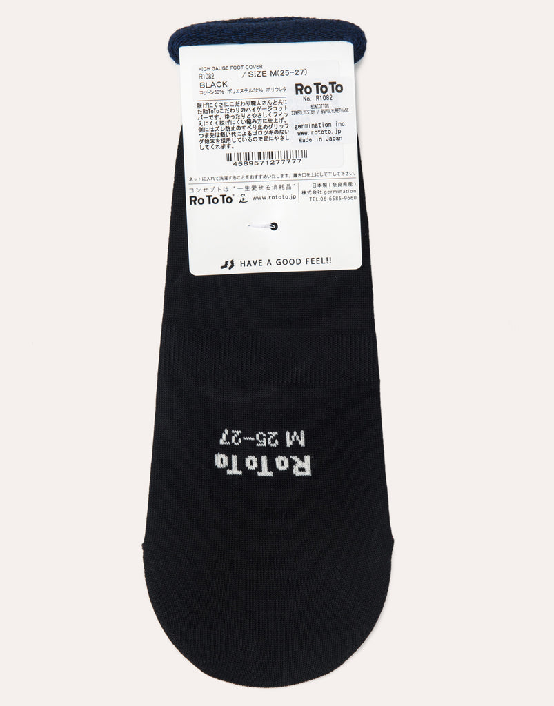 RoToTo High Gauge Socks - Black