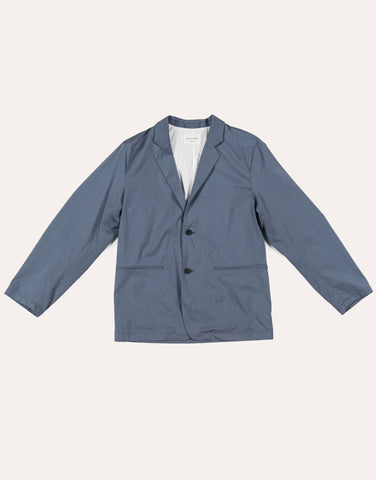 Still by Hand Relaxed 2B Jacket - Slate Blue