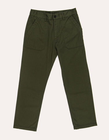 Uniform Bridge Cotton Fatigue Pants - Forest