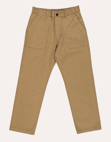 Uniform Bridge Cotton Fatigue Pants - Beige
