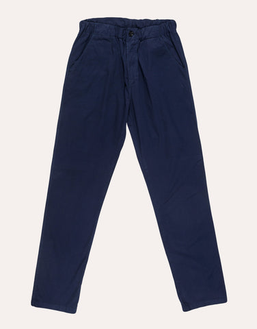 VETRA Large Cotton Trouser - Navy