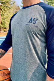 Raglan T-Shirt 3/4 sleeve Find Your North