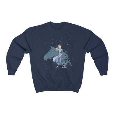 Snow Queen Crewneck Sweatshirt