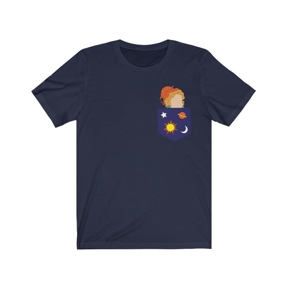 Ms Frizzle Pocket Short Sleeve Tee