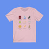 Genovian Princess Icons Short Sleeve Tee